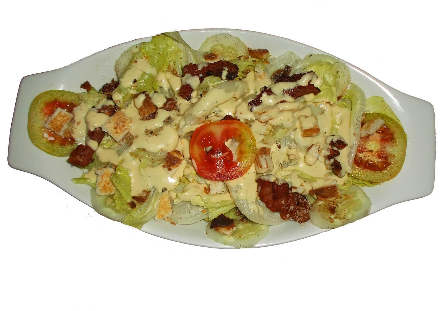 Blue AByss Restaurant cesar salad