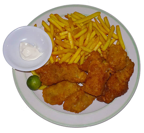 Blue Abyss Restaurant Fish and chips