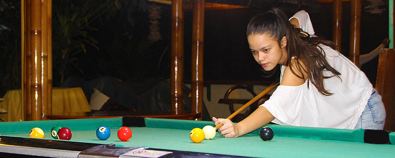 facilities billiard table